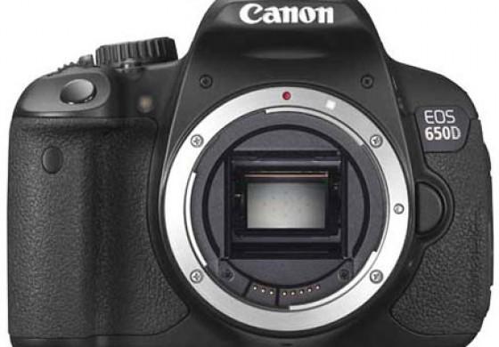 دوربین جدید Canon مدل 650D