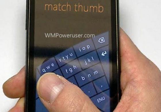 صفحه کلید کمانی مخصوص به ویندوز فون