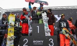 مسابقات اسنوبورد سونی در پیست دیزین برگزار شد
