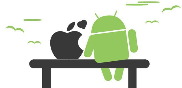 بالاخره اندروید یا iOS؟ صبر کنید شاید پاسخ شما را شگفت زده کند ...ios-and-android