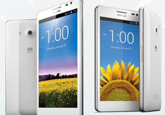 دو گوشی هواوی Ascend Mate و Ascend P2 برای بازار خاور میانه عرضه شد!