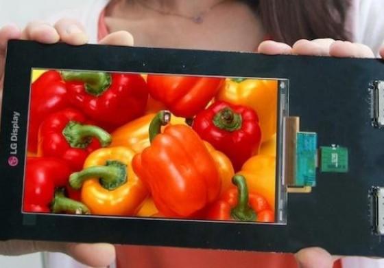 معرفی اولین صفحه نمایش Quad HD توسط ال جی