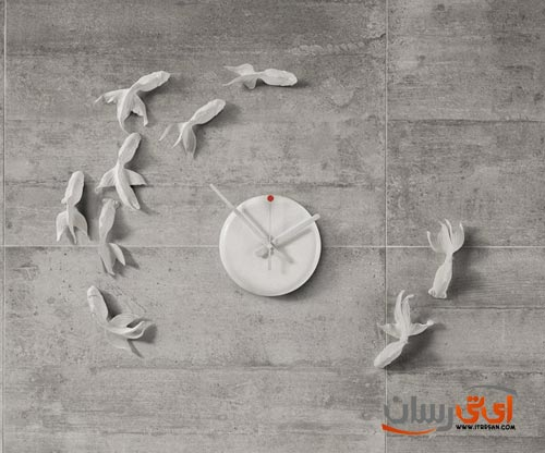 Goldfish-Wall-Clock