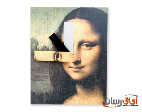 Mona-Lisa-Wall-Clock