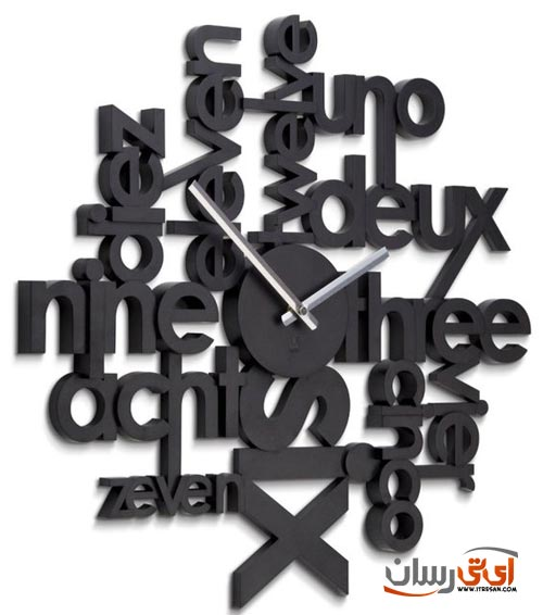 Umbra-Lingua-Wall-Clock