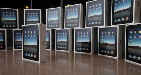 اپل و برنامه ریزی برای تحویل 10 میلیون آیپد ایر در 3 ماه!
