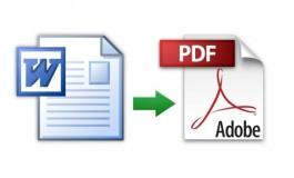 چگونه فایلهای Word را به صورت PDF ذخیره کنیم؟!