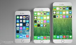 آیفونهای اپل با اندازههایی باورنکردنی؛ آیفون 6 را در اندازههای گوناگون مشاهده کنید!