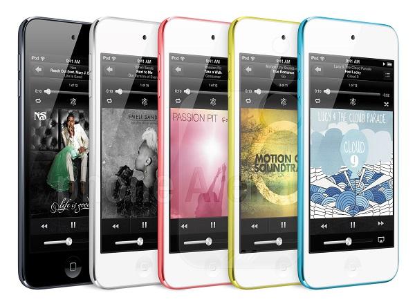 Apple-iPod-touch-5th-gen-3ad برنامه ویژه اپل برای تغییرات ظاهری در آیفونهای جدید