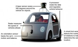 ماشین بدون راننده گوگل هنوز به فرمان نیاز دارد