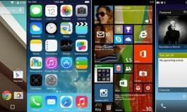 کدام را ترجیح میدهید: اندروید L، بلک بری 10، iOS 8 یا ویندوز 8.1؟ مقایسه 4 پلت فرم (بخش دوم)