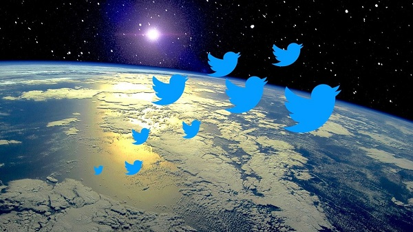 twitter to space