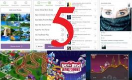 5 بازی و برنامه جدید که بیشترین تعداد دانلود را داشتهاند