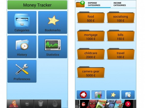 MONEY TRACKER