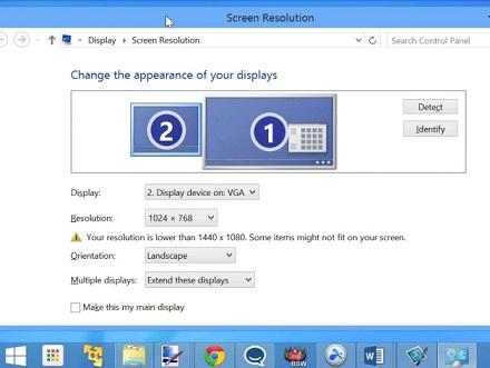 desktop extension 4 چگونه از تبلت به عنوان صفحه نمایش دوم برای کامپیوتر استفاده کنیم؟