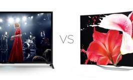 تلویزیون OLED خمیده الجی در برابر تلویزیون LCD 4K سونی: کدام پادشاه قلمرو است؟
