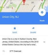 نسخه جدید گوگل مپ زمان رسیدن شما به مقصد را هم اعلام میکند!