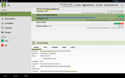 ttorrent-allows-you-to-find-and-download-torrents-with-your-phone 14 برنامه جالب برای اندروید که باعث حسادت آیفون دارها میشود!