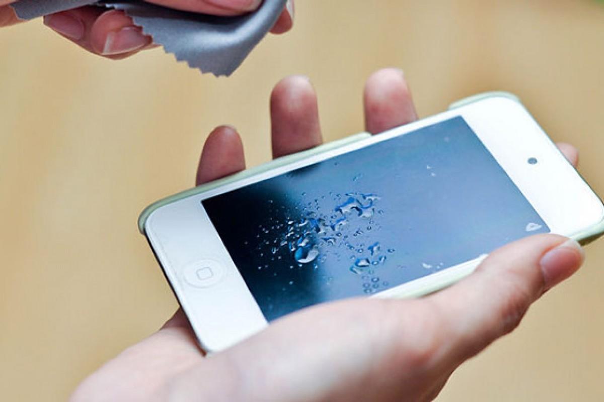 آموش ضدعفونی و تمیز کردن تلفنهای همراه
