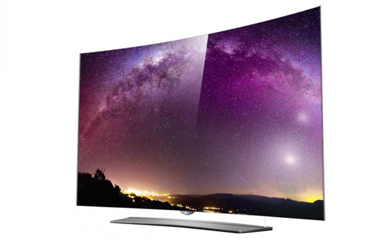 هر تلویزیون خمیدهای OLED نیست