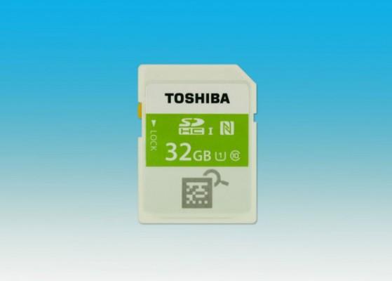 Toshiba-SDHC-memory-card