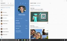 اسکایپ در محیط ویندوز 10 چه شکل و شمایلی دارد؟