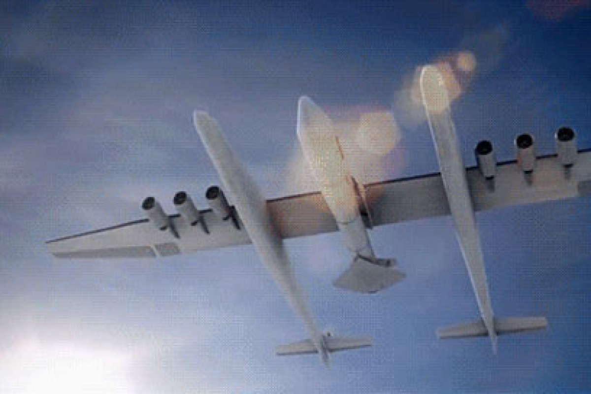 نخستین تصویر از بزرگترین هواپیمای جهان