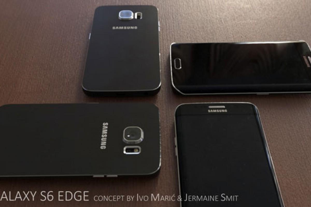 کانسپتهایی جدید از تصاویر گلکسی S6 منتشر شد! (ادغامی از فلز و شیشه)
