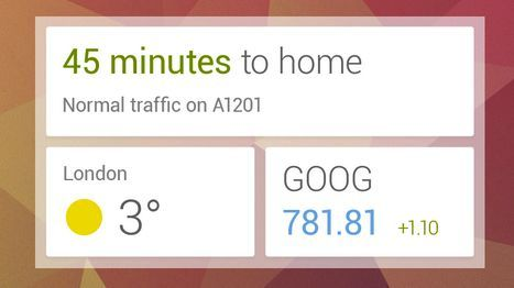 Google Now widget -650-80