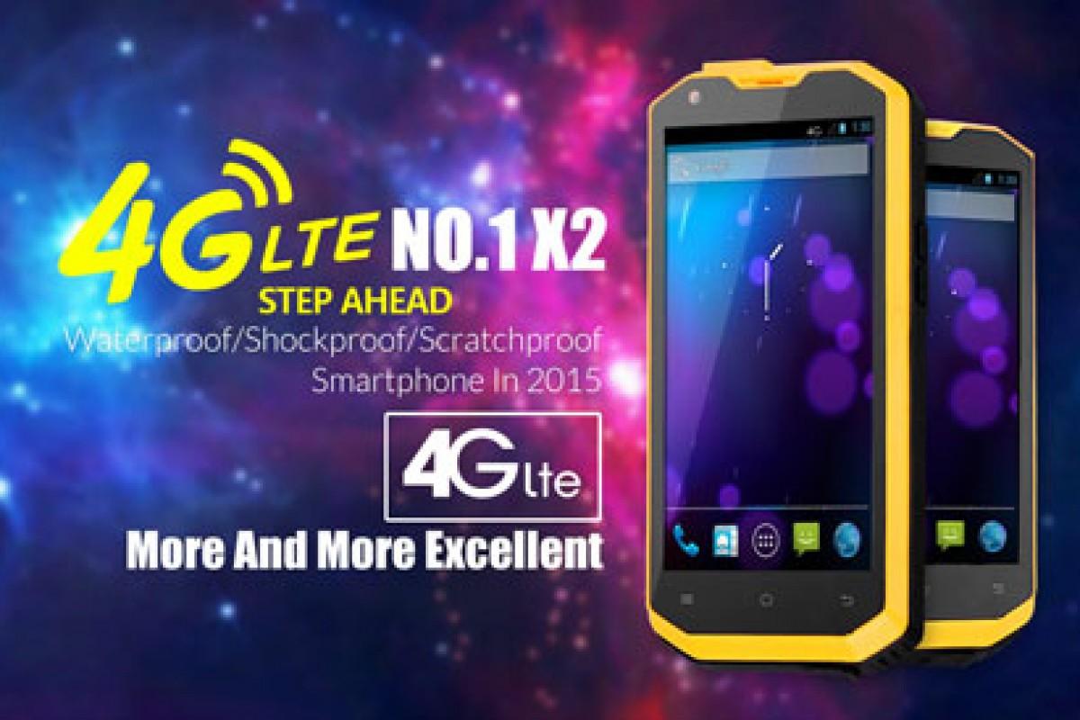 گوشی عجیب No.1 X2 یک هوشمند مستحکم با امکاناتی عالی