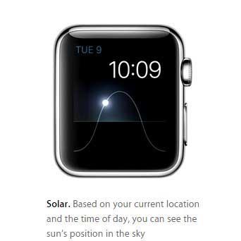 Solar-watch-face