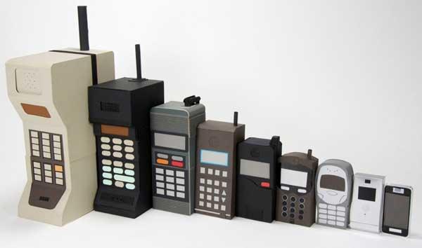 سیر تکاملی تلفن همراه