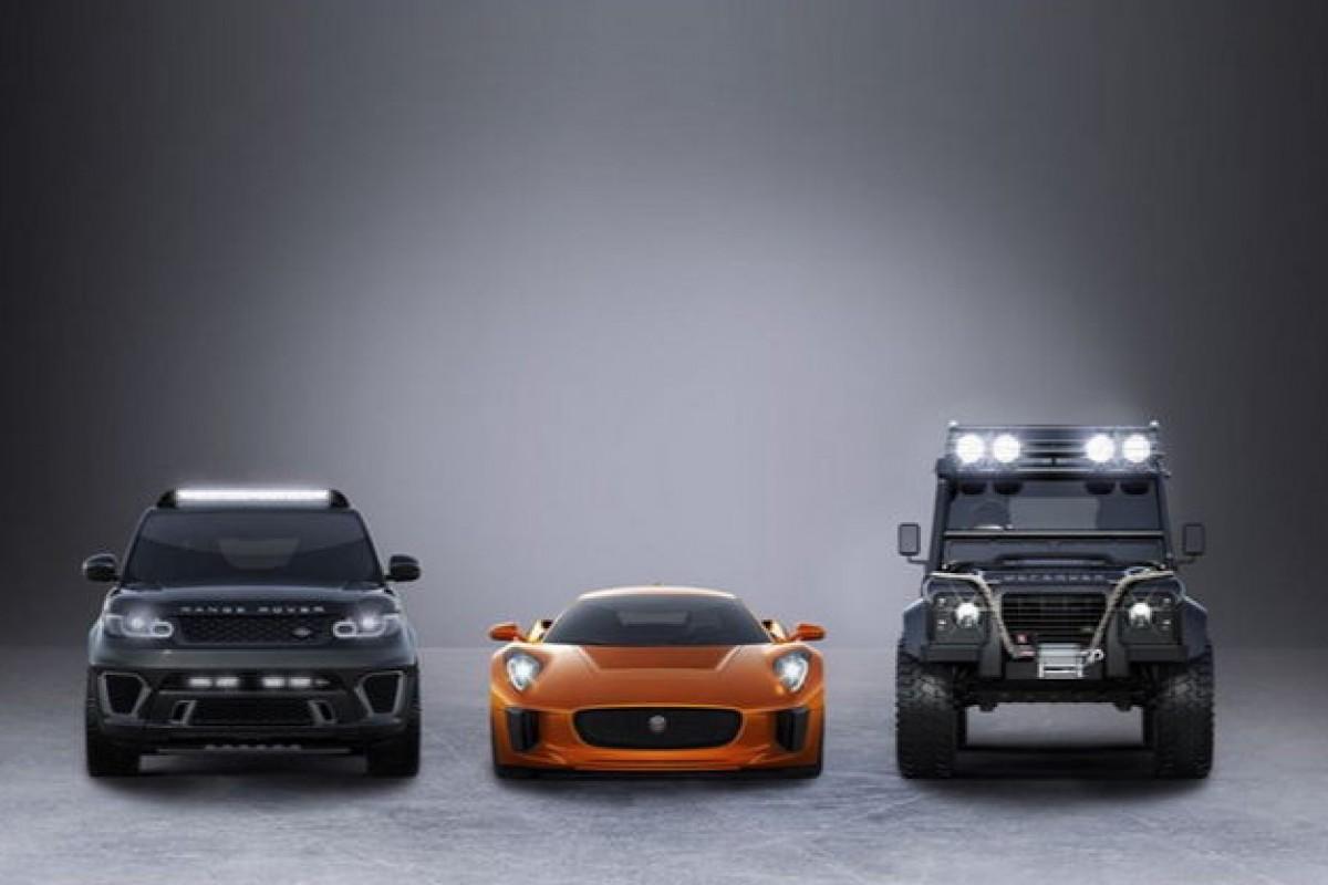 با خودروهای جدید جیمزباند آشنا شوید