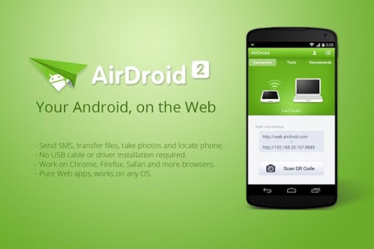 اپ رسان: با AirDroid اندروید را به رایانه خود بیاورید!