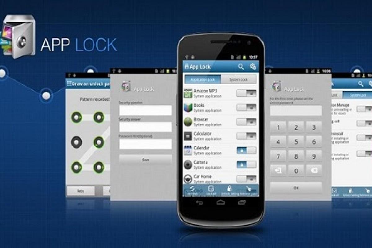 اپ رسان: با AppLock همه چیز را قفل کنید!