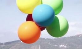 پرواز تبلت اکسپریا Z4 با چند بادکنک را تماشا کنید!