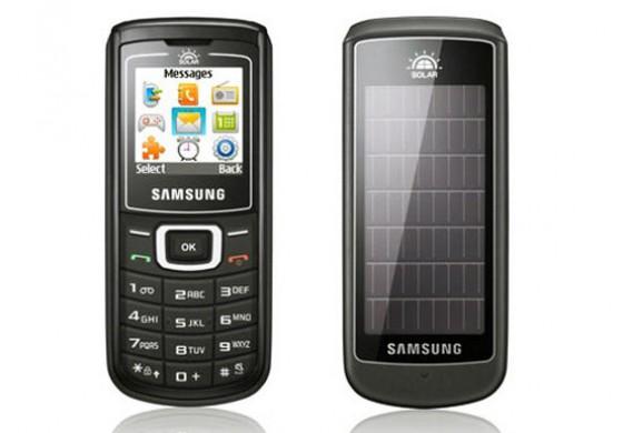 اولین تلفن همراه خورشیدی ساخته کمپانی سامسونگ بوده است!