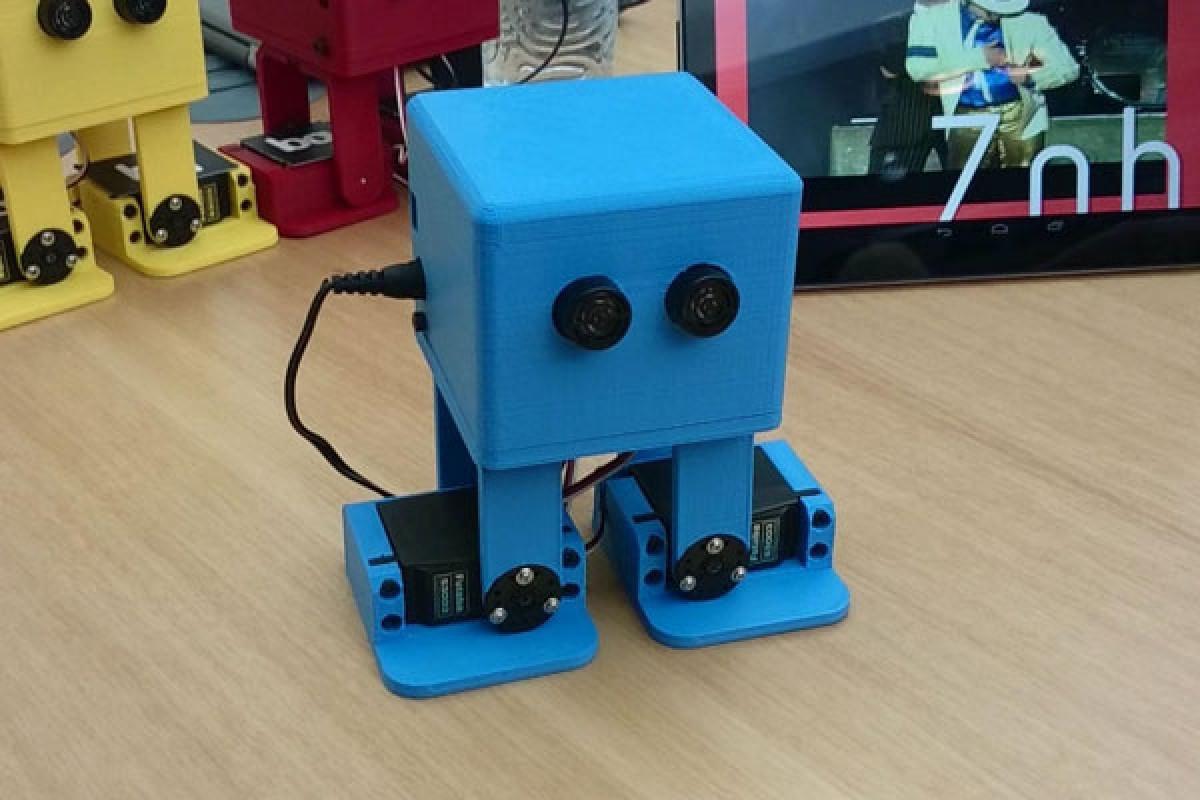 با ربات رقصنده اسپانیایی بیشتر آشنا شوید!