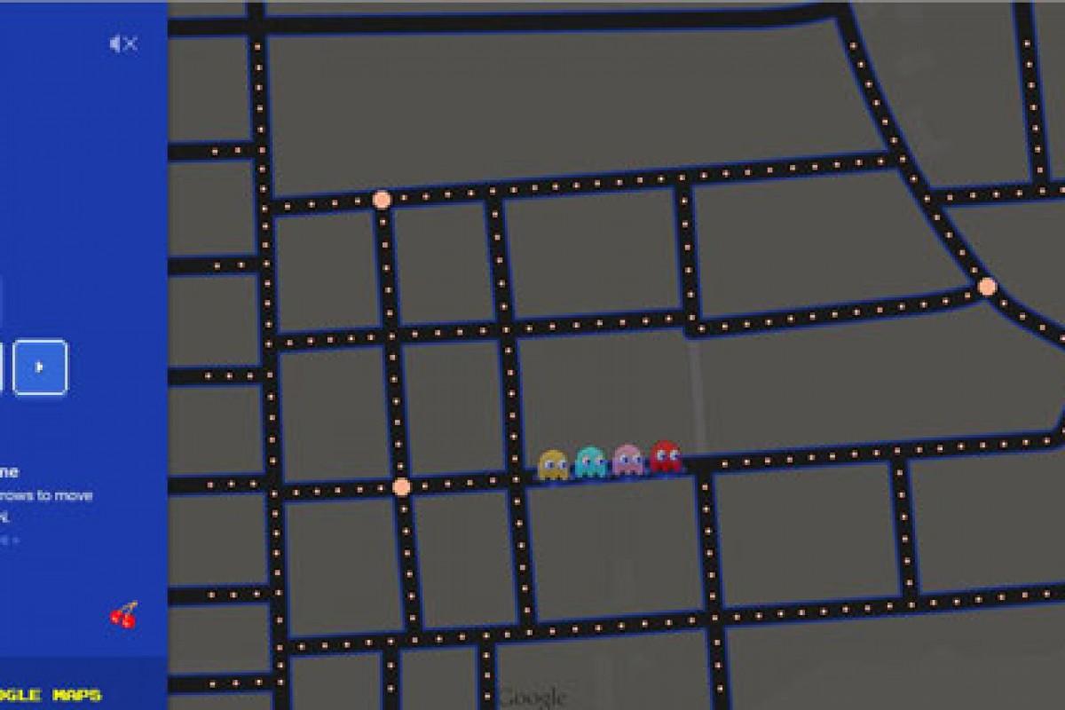 گوگل خیابان شما را تبدیل به بازی Pac-Man میکند!