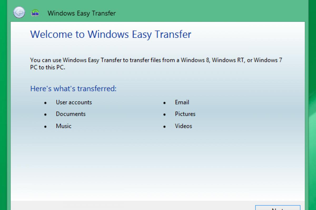 روشهایی ساده برای انتقال سریع تنظیمات و فایلهای شما به کامپیوتری دیگر!