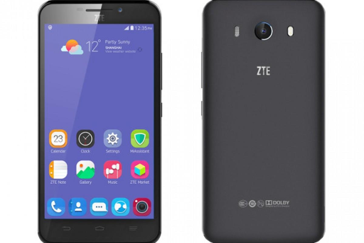 معرفی رسمی گوشی ZTE Grand S3 با حسگر بیومتریک تشخیص چشم