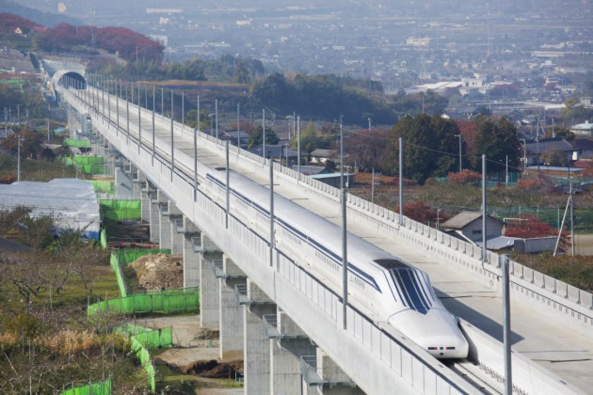 قطار ژاپنی Maglev رکورد جهانی سرعت خود را شکست