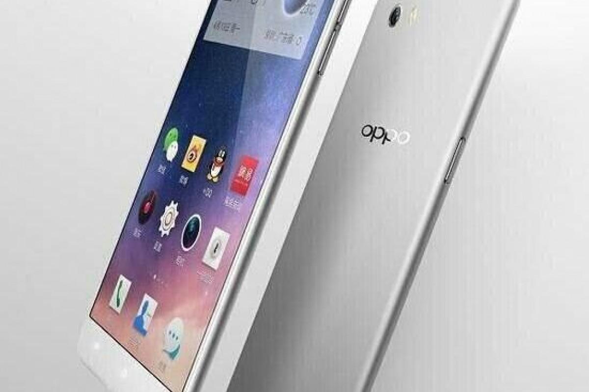 تصاویر جدید گوشی Oppo R7 نشان میدهد این دستگاه باریک و تمام فلزی است