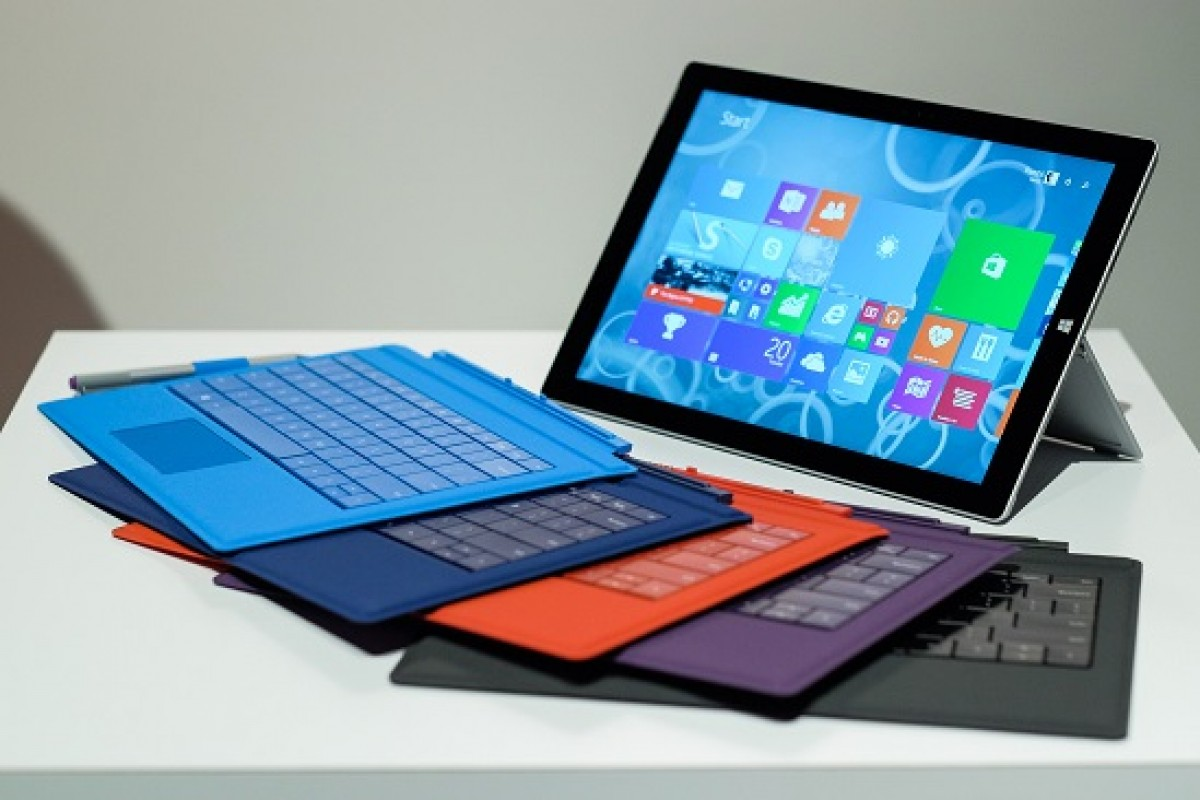 مایکروسافت در حال کار بر روی دو تبلت سرفیس جدید با نمایشگر بزرگ است