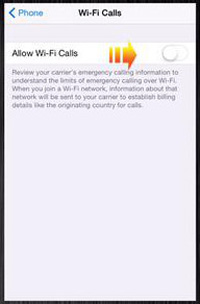 Toggle-Allow-Wi-Fi-Calls-on