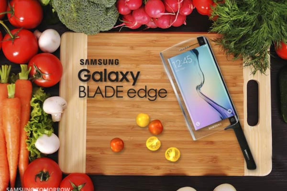 سامسونگ از چاقوی هوشمند گلکسی Blade رونمایی کرد!