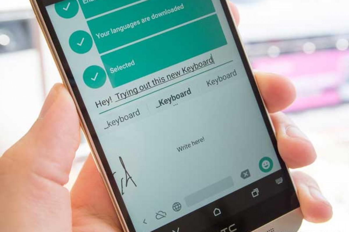 گوگل صفحه کلید جدید دستخط محور خود را برای دستگاههای اندرویدی عرضه کرد