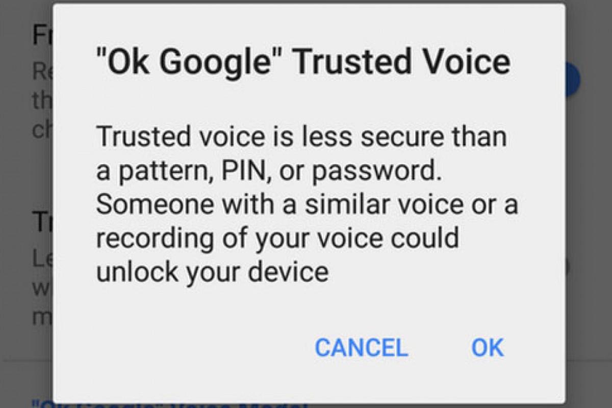 از این پس کاربران نکسوس میتوانند از طریق صدا خود اسمارت فون را قفل گشایی کنند!