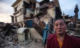 عکسهایی تکان دهنده از زلزله نپال که توسط یک پدر و پسر گرفته شده است!