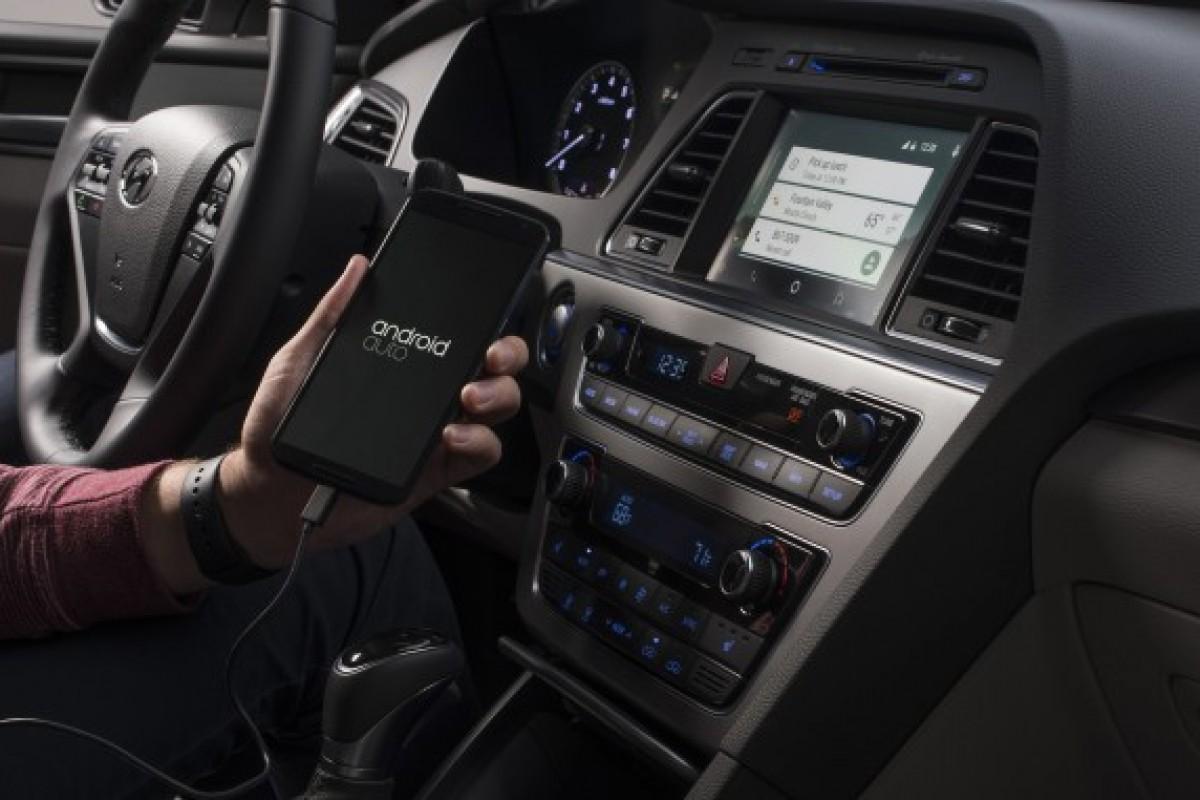 هیوندای سوناتا ۲۰۱۵ اولین خودروی مجهز به سیستم عامل اندروید اتو است